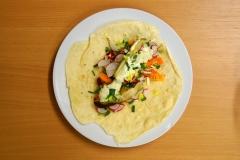 Tortilla aus Dinkelmehl